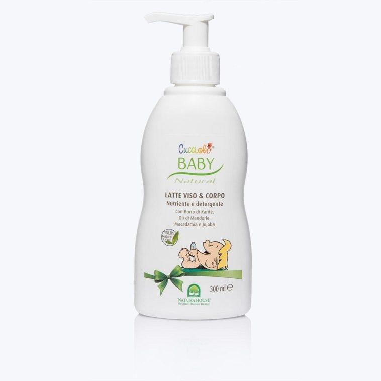 Detergente Latte Viso e Corpo - Natura House