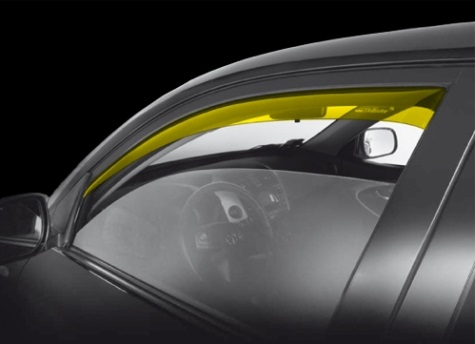 Deflettori anteriori Nissan Pixo 3 porte dal 2009 al 2014