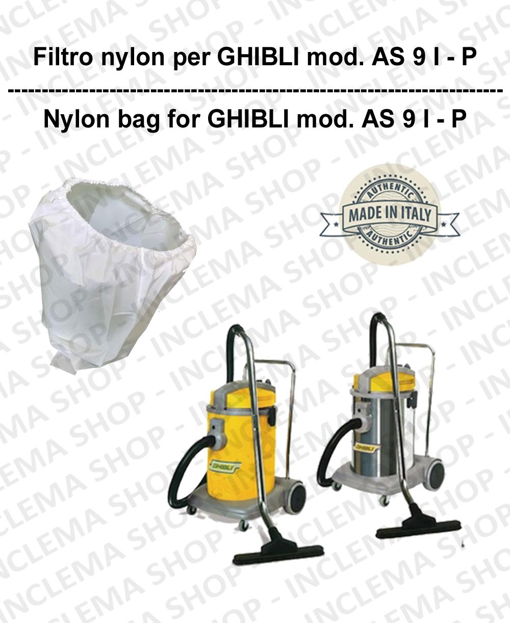 SACCO FILTRO NYLON cod: 3001215 PER aspirapolvere GHIBLI modello AS 9 I - P