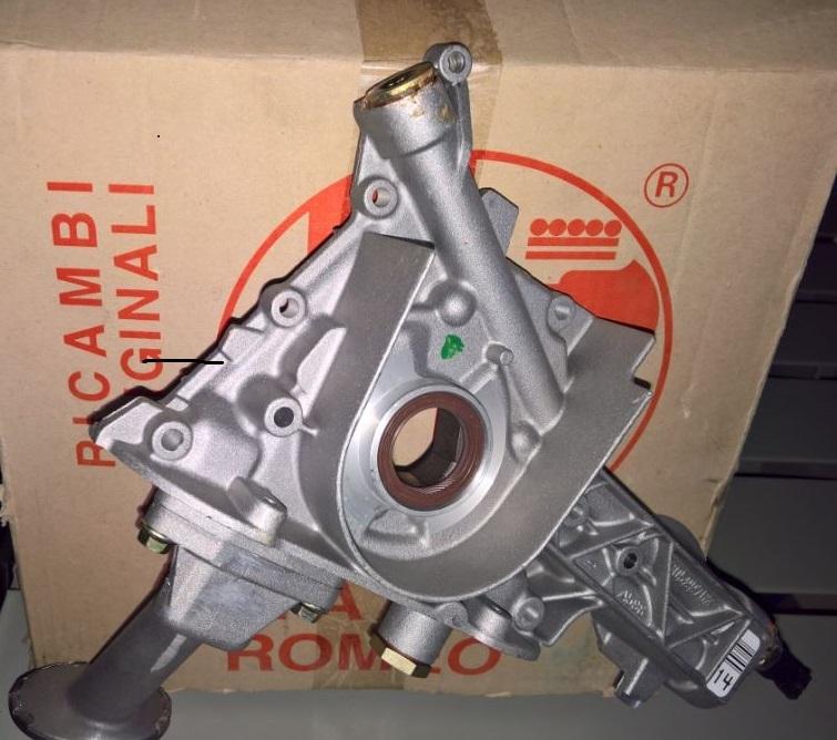 Pompa olio motore Fiat Coupe, alfa 145-146