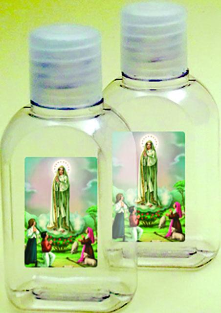 600 bottiglietta plastica 50 ml. Madonna di Fatima