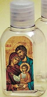 600 bottiglietta plastica 50 ml. Sacra Famiglia