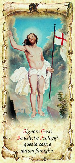 Gesù Risorto 10x21,5 (100 pz)