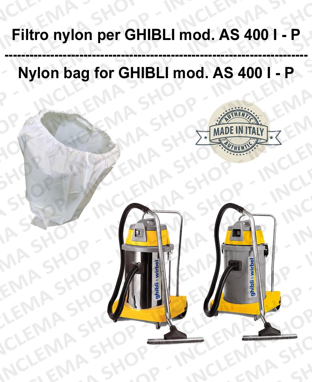 NYLON filter bag cod: 3001215 for vacuum cleaner GHIBLI model AS400