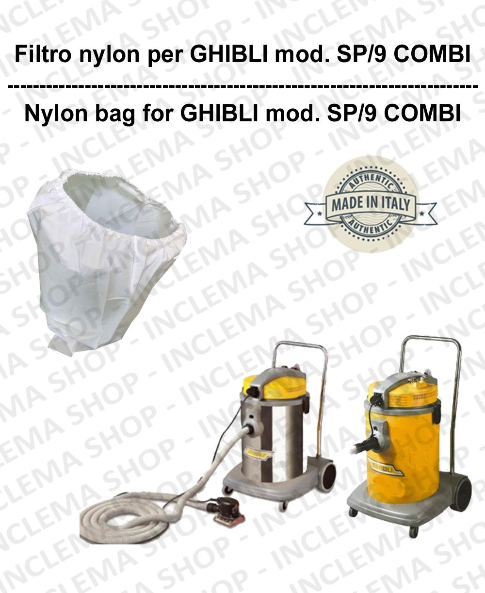 NYLON filter bag cod: 3001215 for vacuum cleaner GHIBLI model SP9/COMBI