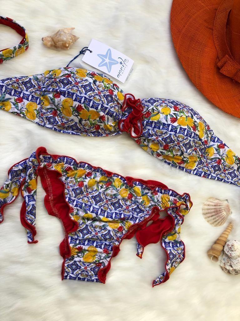 Bikini fascia limoni