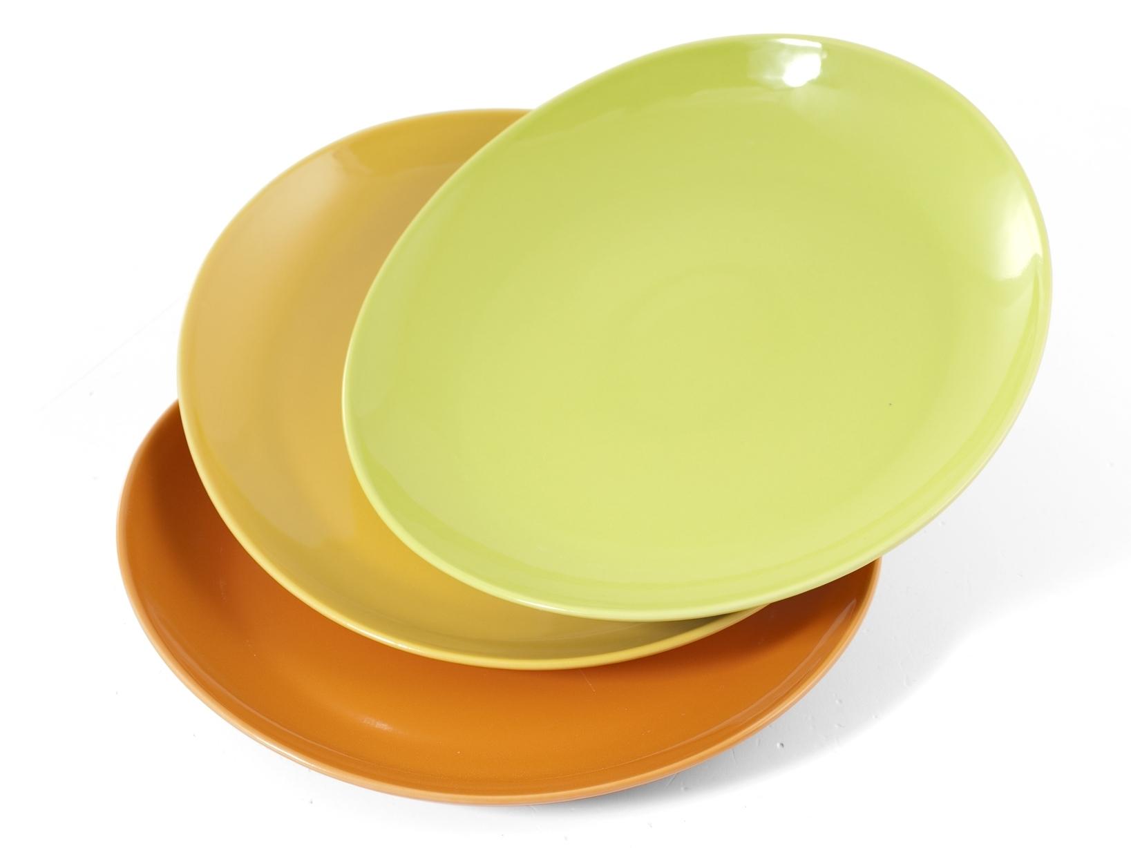Buy Set 6 Dishes Porcelain Steak 3 30 17344319   Italy2Us.com
