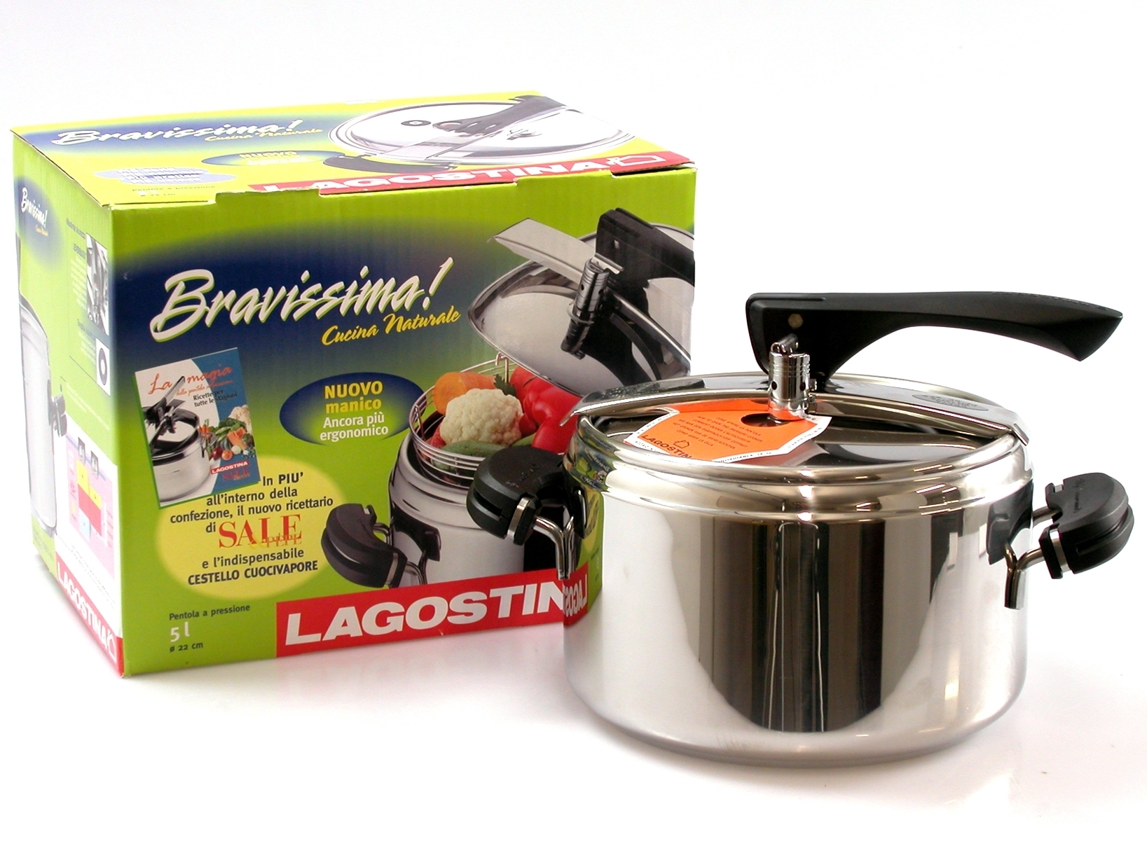Buy Pressure Cooker Bravissima Natural 3116505   Italy2Us.com