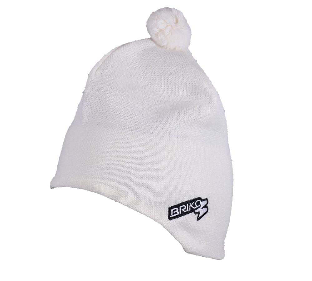 Buy Unisex White Winter Cap Lined Wool 17457038 | Italy2Us.com