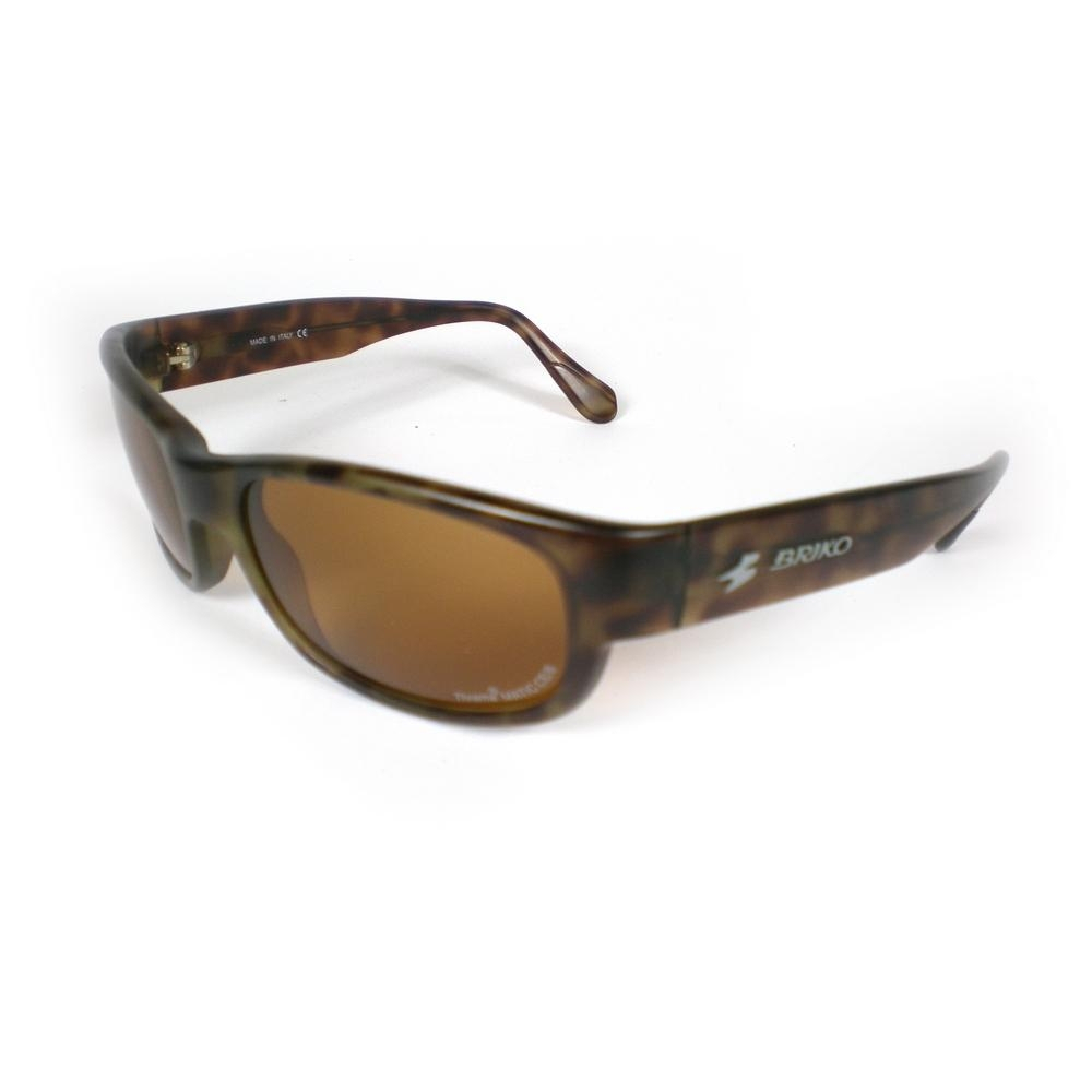 Buy Unisex Sports Sunglasses Shine Brown 17457132 | Italy2Us.com