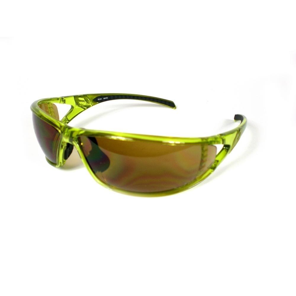 Buy Unisex Sports Sunglasses Scan Olive 17457087   Italy2Us.com