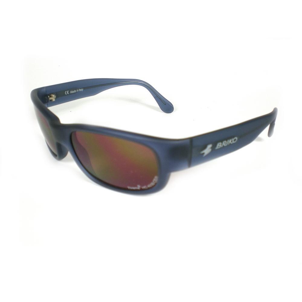 Buy Unisex Sports Sunglasses Shine Blue 17457129 | Italy2Us.com
