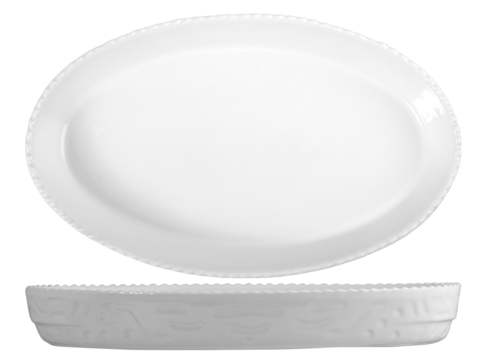 Buy Oval Porcelain Cm42 Dishware 17457661 | Italy2Us.com