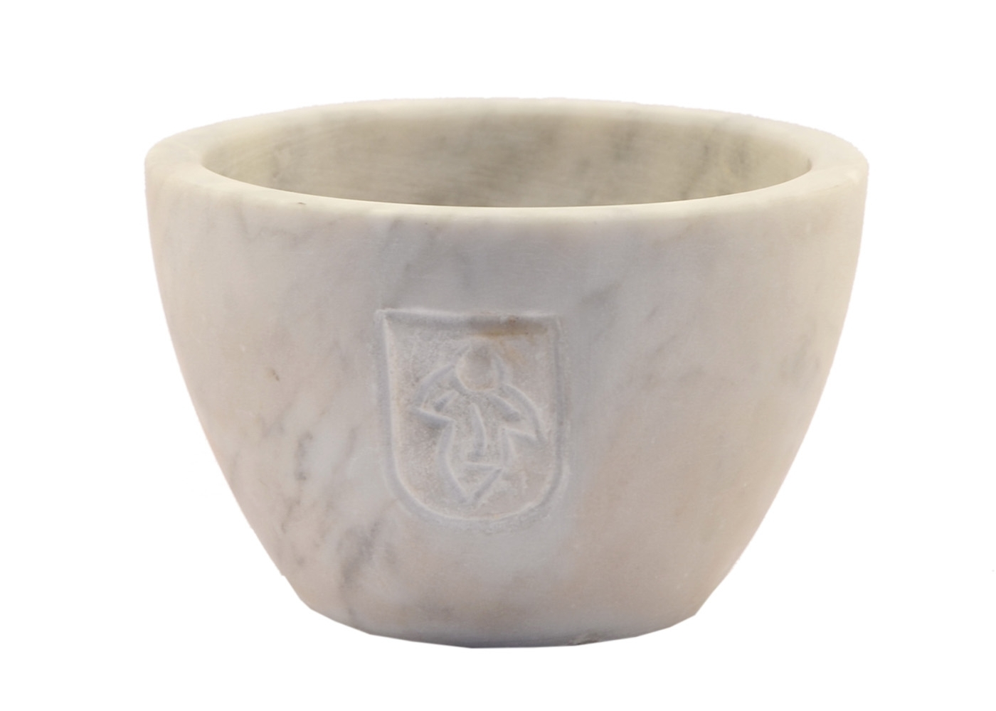 Buy Marble Storage Bowl Carved Italian 17457717 | Italy2Us.com