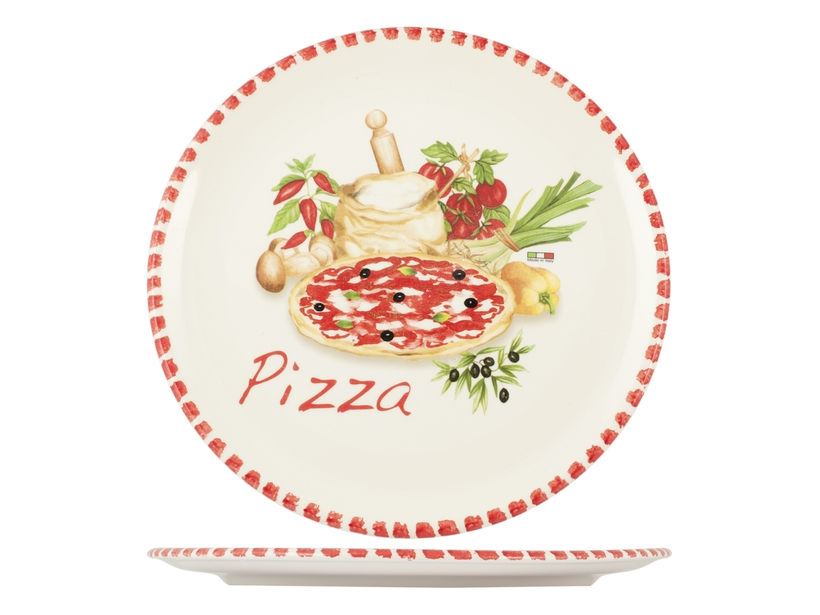 Buy Cm34 Pizza Plate Ceramic 17457651 | Italy2Us.com