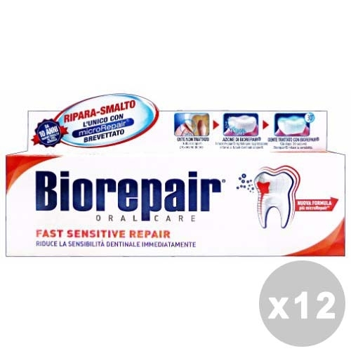 Buy Set 12 Toothpaste Fast Sensitive 17457720 | Italy2Us.com