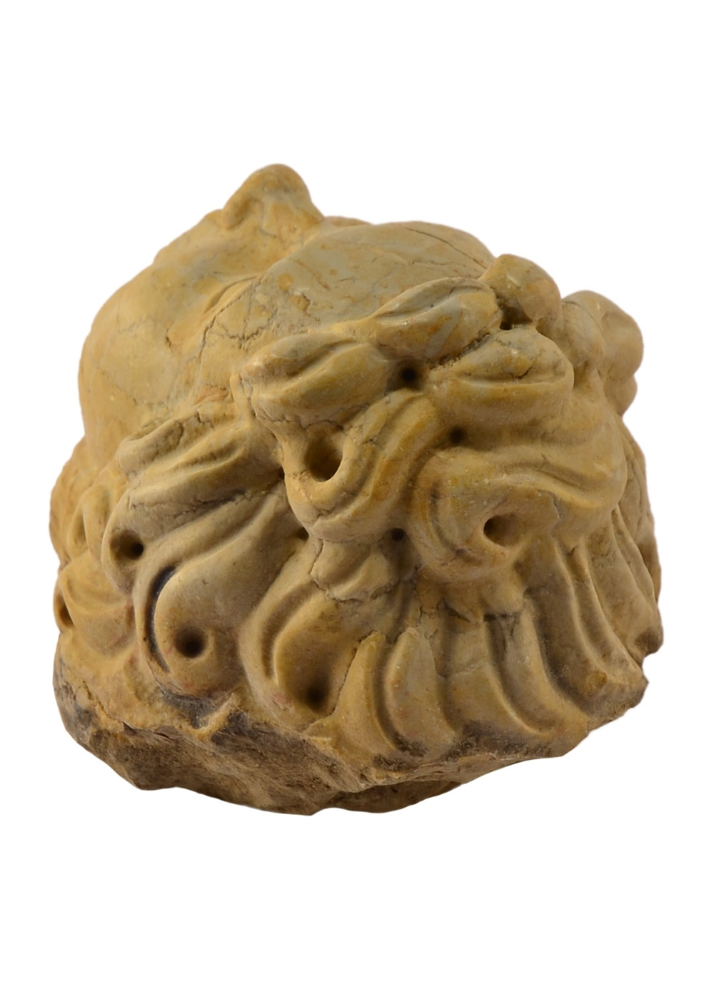 Buy Head Cherub Colored Marble Sculpture 17457742 | Italy2Us.com