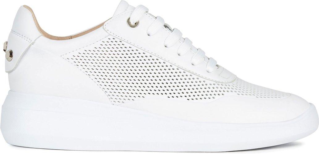 GEOX SCARPE DONNA Sukiel D84F2B sneakers con lacci in pelle