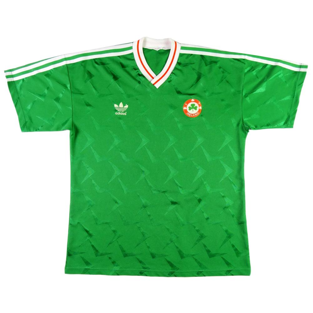 1990-92 Irlanda Maglia Home L