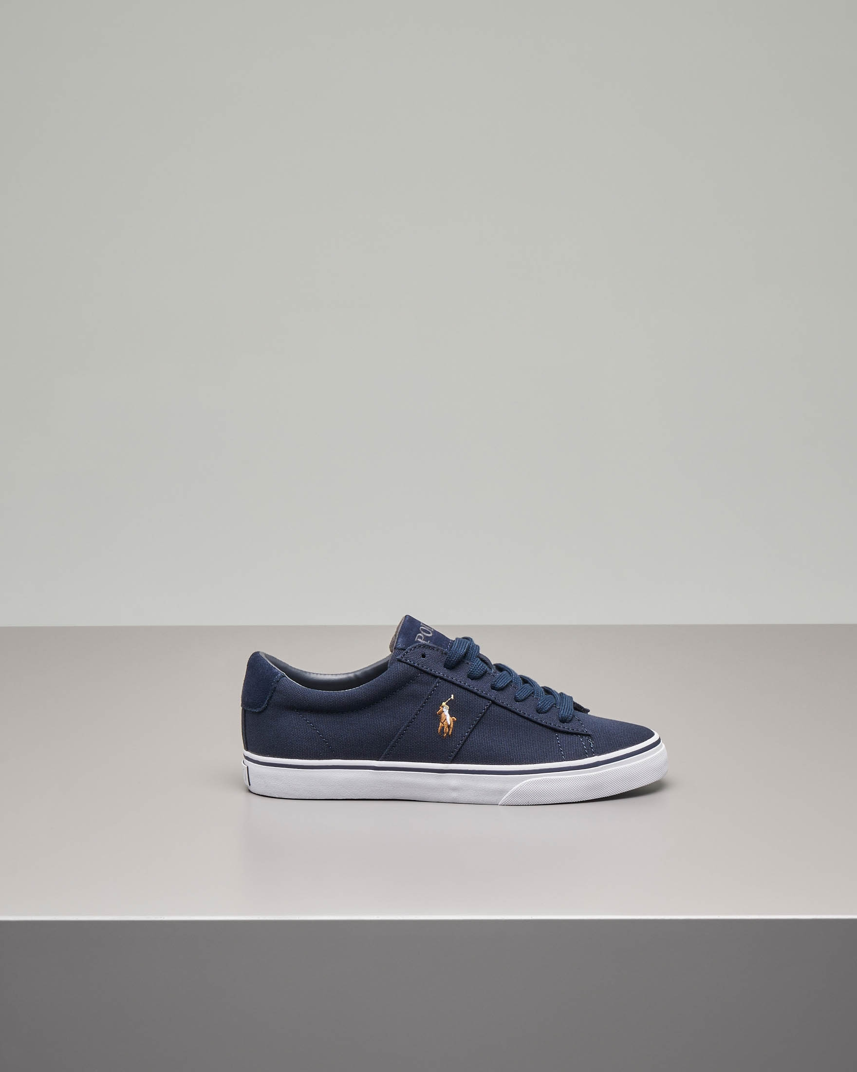 61f9ff236c34df Sneakers Sayer blu in tela | Pellizzari E-commerce