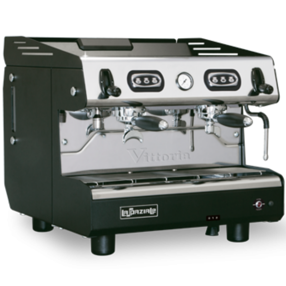 Macchina caffè Vittoria EK Elettronica con dosatura programmabile e Vittoria EP con dosatura manuale