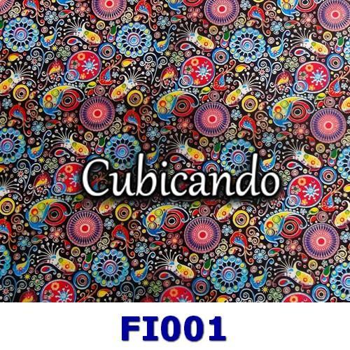 Pellicola Fiori 1 per cubicatura