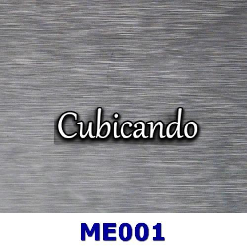 Pellicola per cubicatura effetto metallo