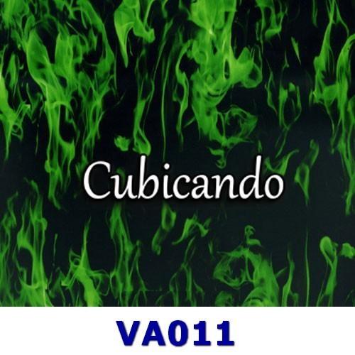 Pellicola per cubicatura Fiamme Verdi