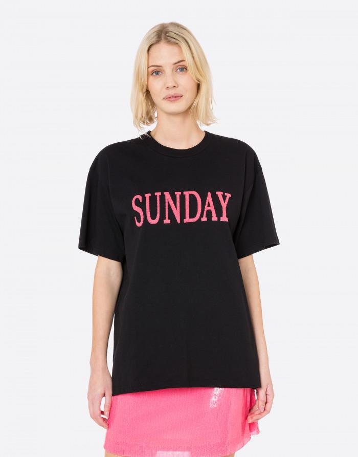 T-SHIRT FLUO RAINBOW WEEK, SUNDAY