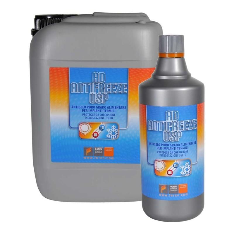 Faren ad antifreeze usp 1000ml antigelo puro grado alimentare per impianti termici