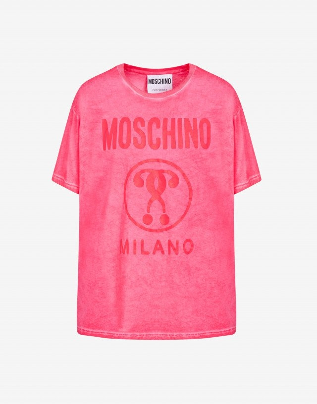 T-shirt moschino couture effetto lavato