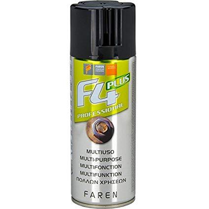 Faren F4 plus professionale 400ml sbloccante lubrificante pulitore anticorrosivo