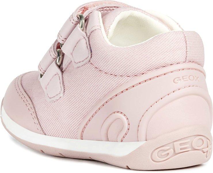 GEOX EACH SNEAKER PRIMI PASSI BABY GIRL DOPPIO STRAP CON