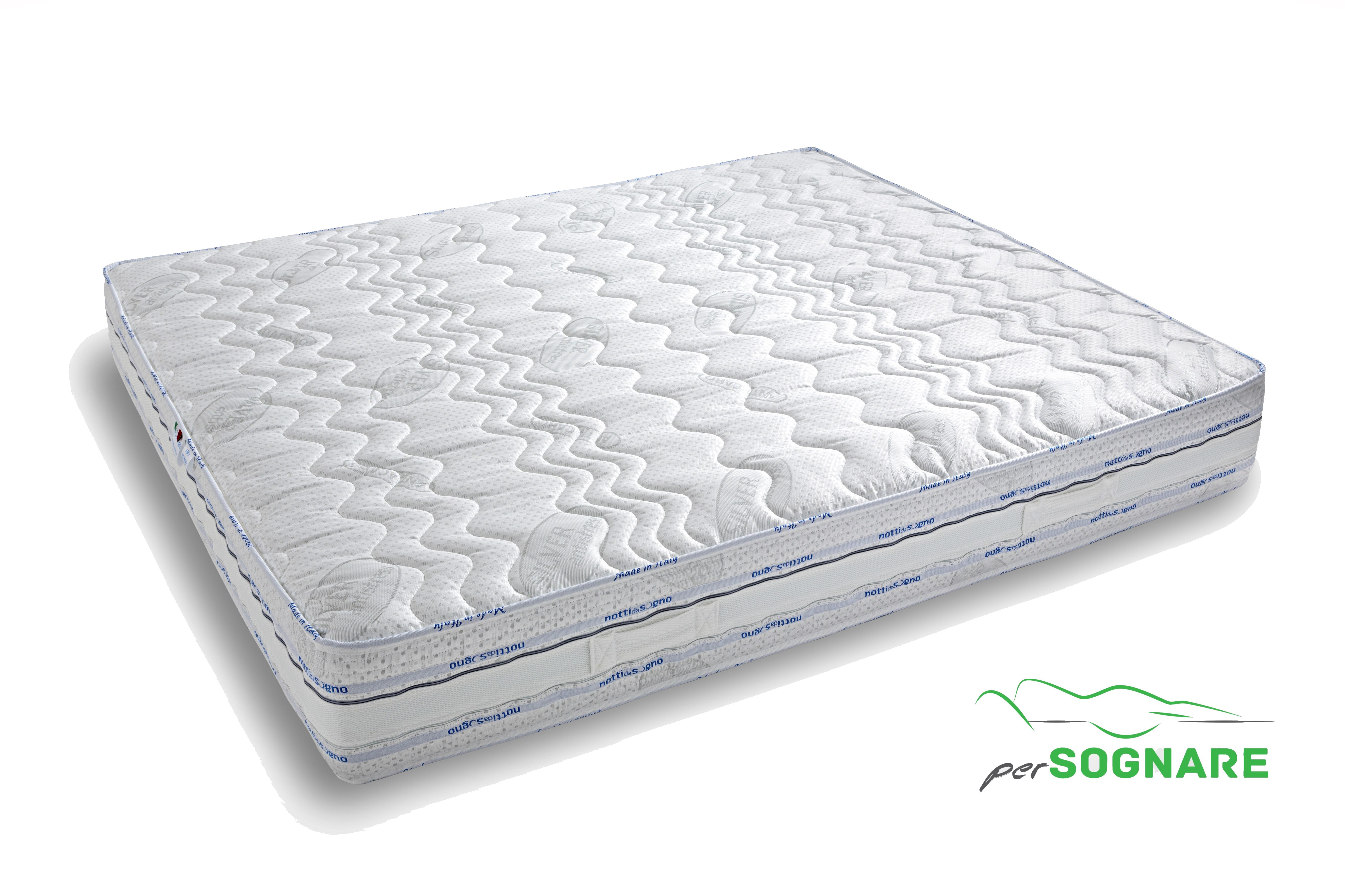 Materassi Soia Memory Prezzi.Materasso A 3 Strati Con Memory Foam H 24cm Sfoderabile Antistress