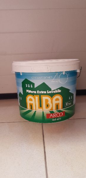 Arco Alba pittura acrilica bianca 10lt
