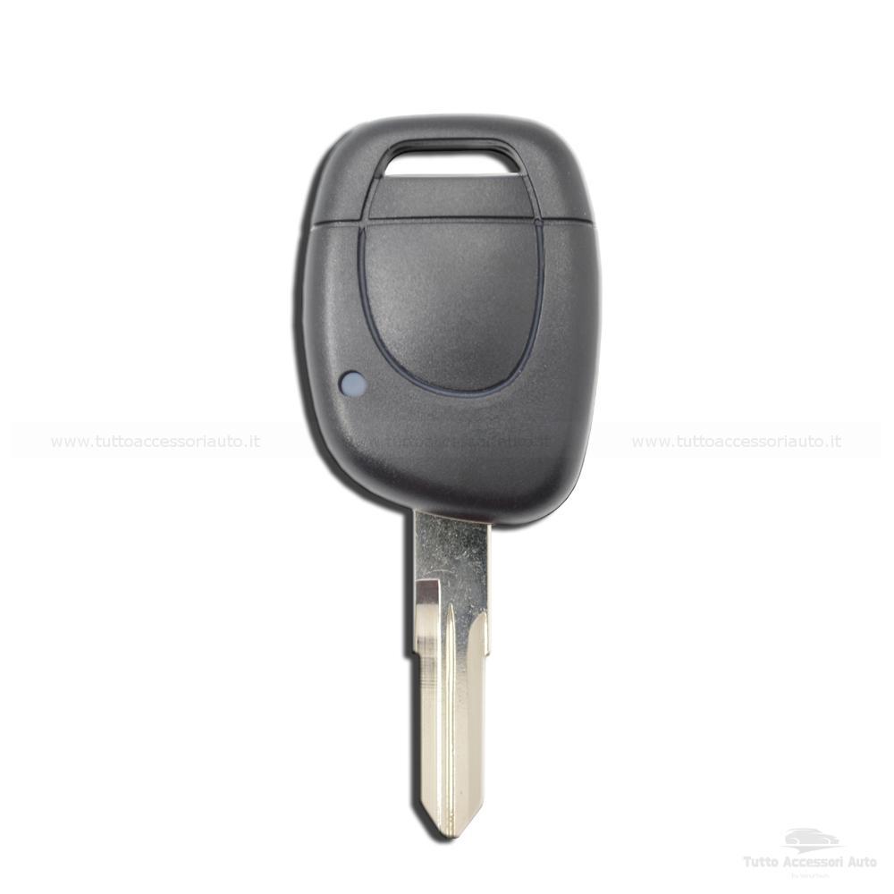 SCOCCA GUSCIO CHIAVE TELECOMANDO 1 TASTO PER AUTO RENAULT CLIO MEGANE KANGOO TWINGO ESPACE SAFRANE