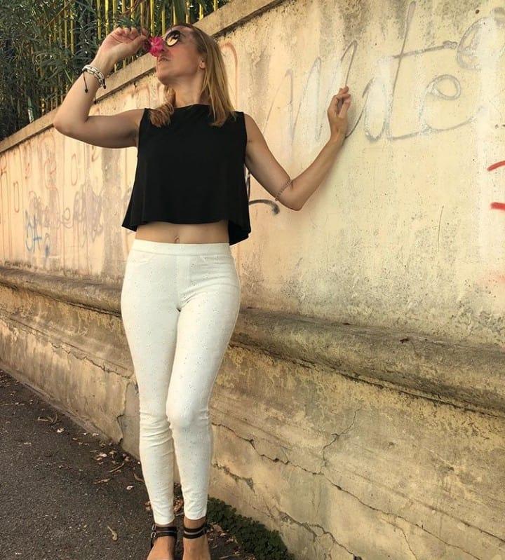 Pantalone Pizzo San Gallo