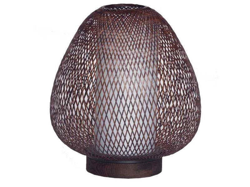 Naturel Egg En De Ay Twiggy Bambou Ø30cm Lampe Table Illuminate mwN8n0