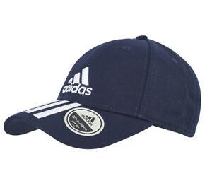 CAPPELLO ADIDAS 6P 3S CAP COTTO LEGINK/WHITE BLUE DU0198