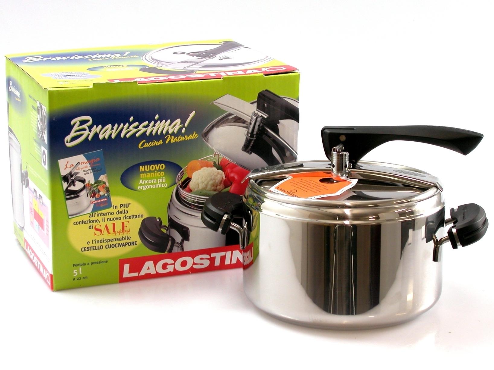 Buy Pressure Cooker Bravissima Natural 3116505 | Italy2Us.com