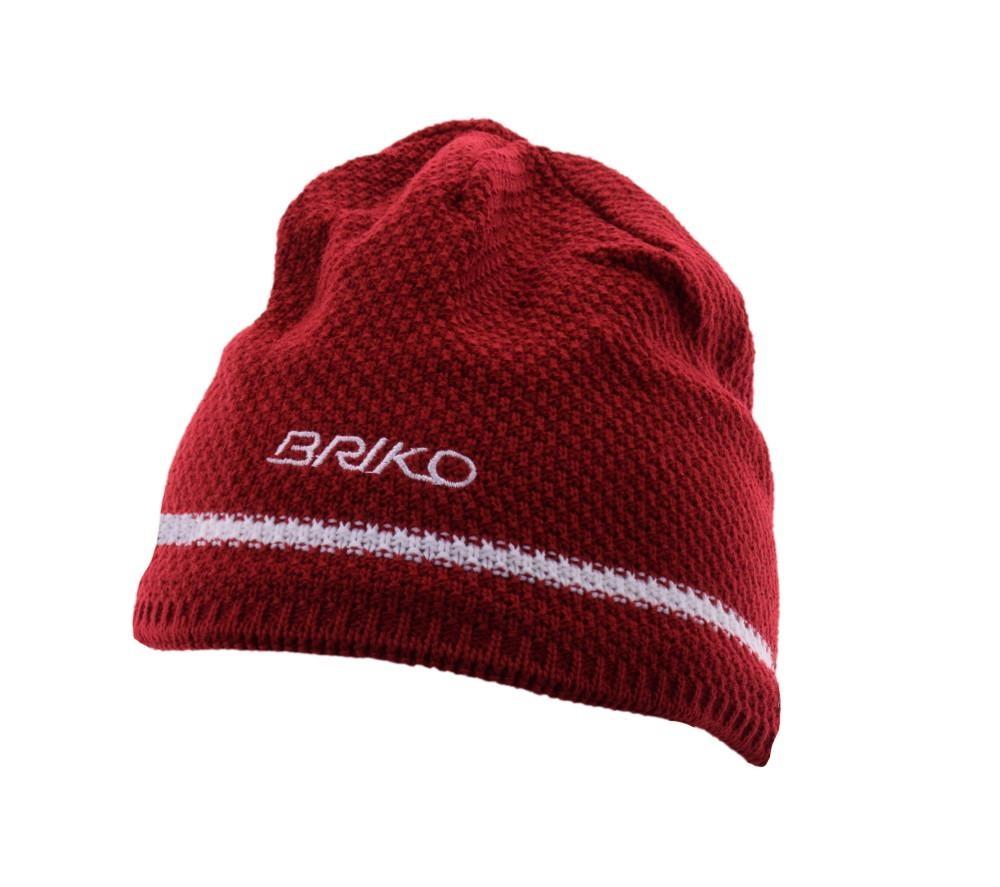 Buy Winter White Red Unisex Cap Wool 17457026 | Italy2Us.com