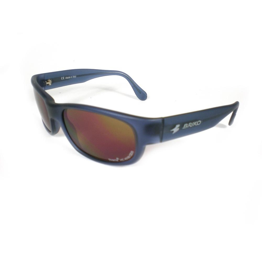 Buy Unisex Sports Sunglasses Shiny Blue 17457136 | Italy2Us.com