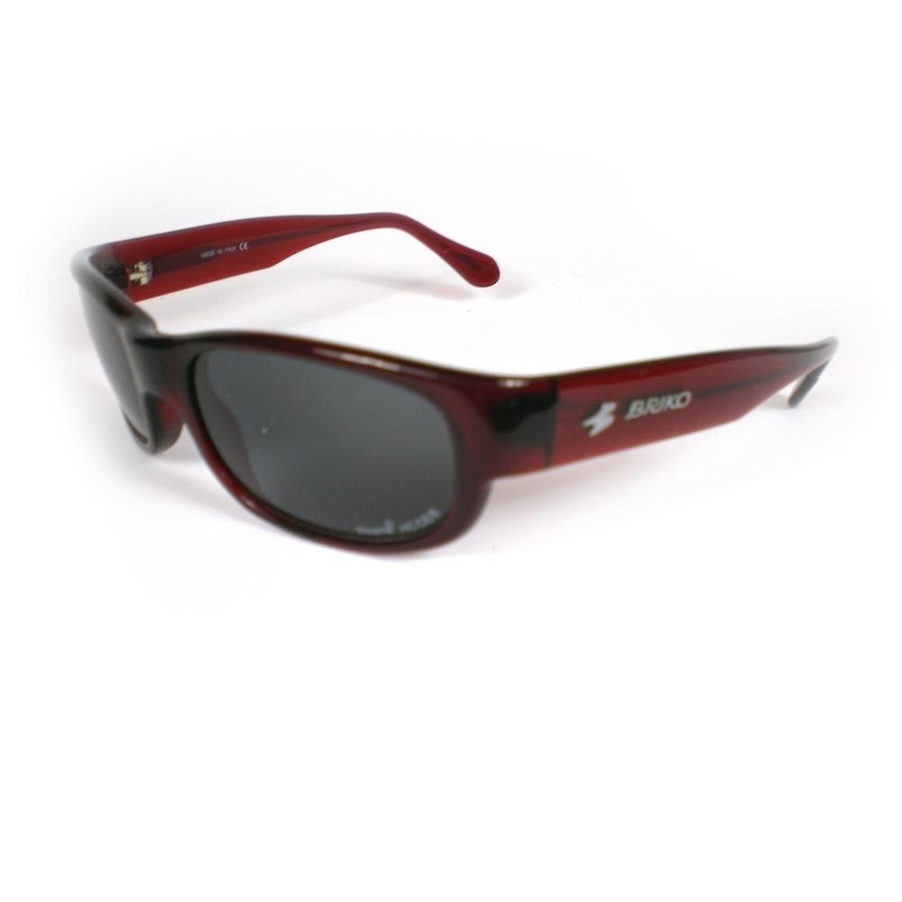 Buy Unisex Sports Sunglasses Shiny Red 17457138 | Italy2Us.com