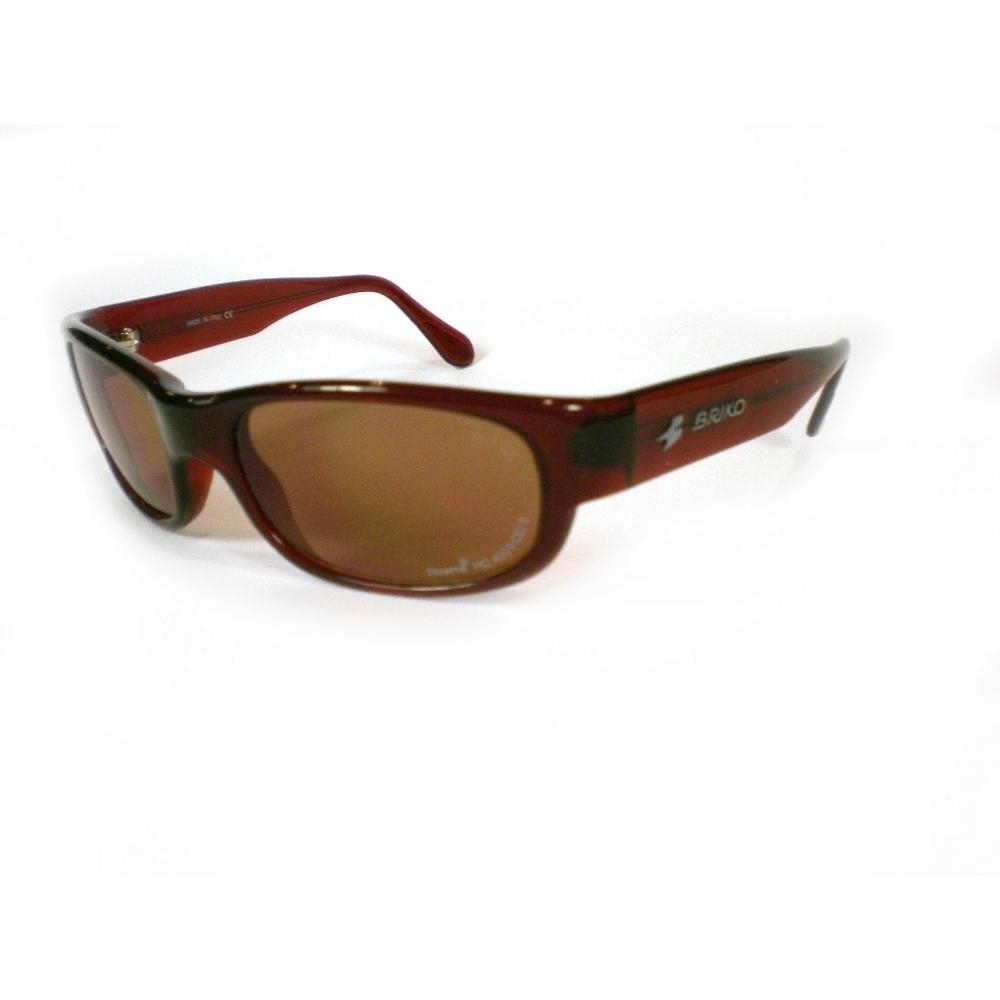 Buy Unisex Sports Sunglasses Shiny Brown 17457137 | Italy2Us.com