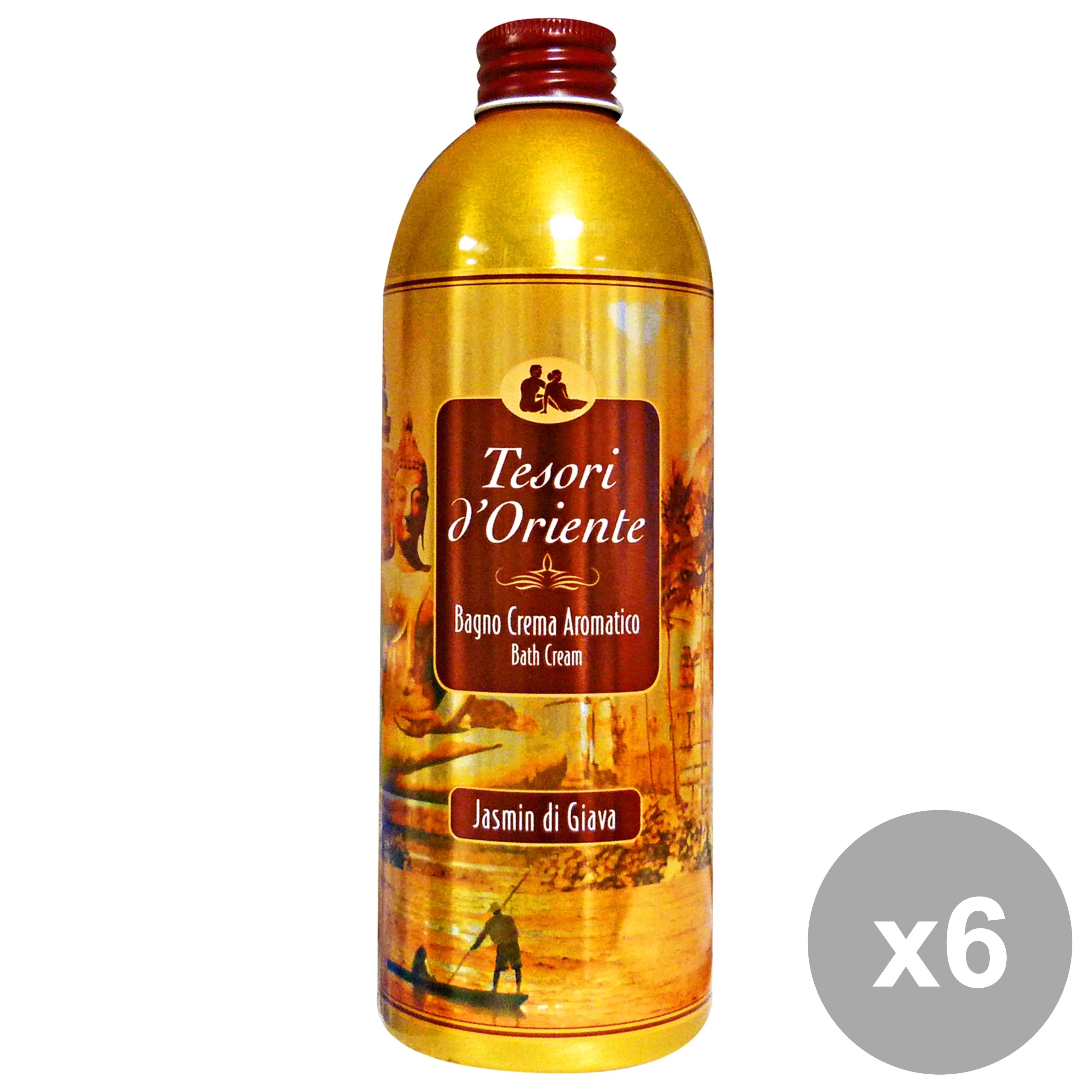 Buy Set 6 Aromatic Bath Cream Jasmine 17457693 | Italy2Us.com