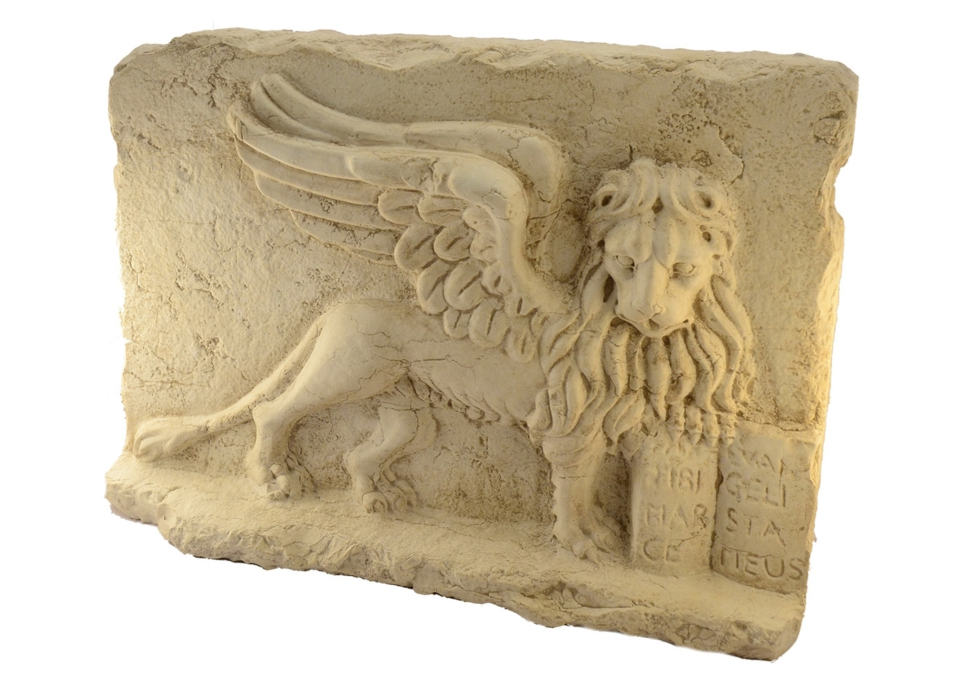 Buy Marble Lion St  Mark Bas-relief Hand 17457696 | Italy2Us.com