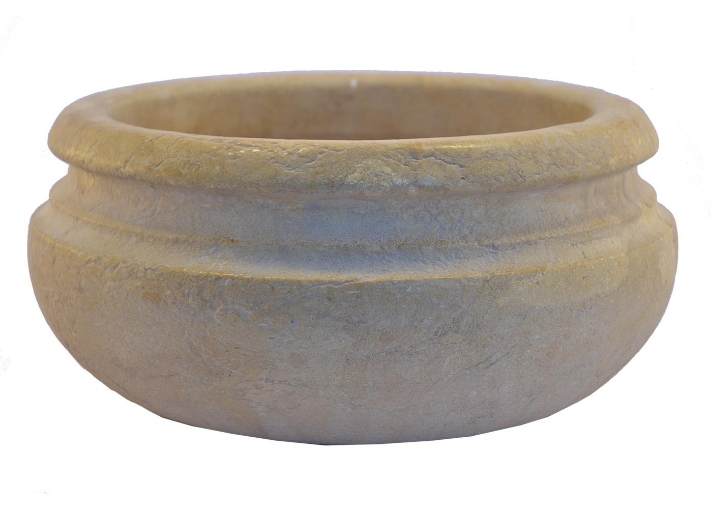 Buy Marble Multipurpose Bowl Planter 17457718 | Italy2Us.com