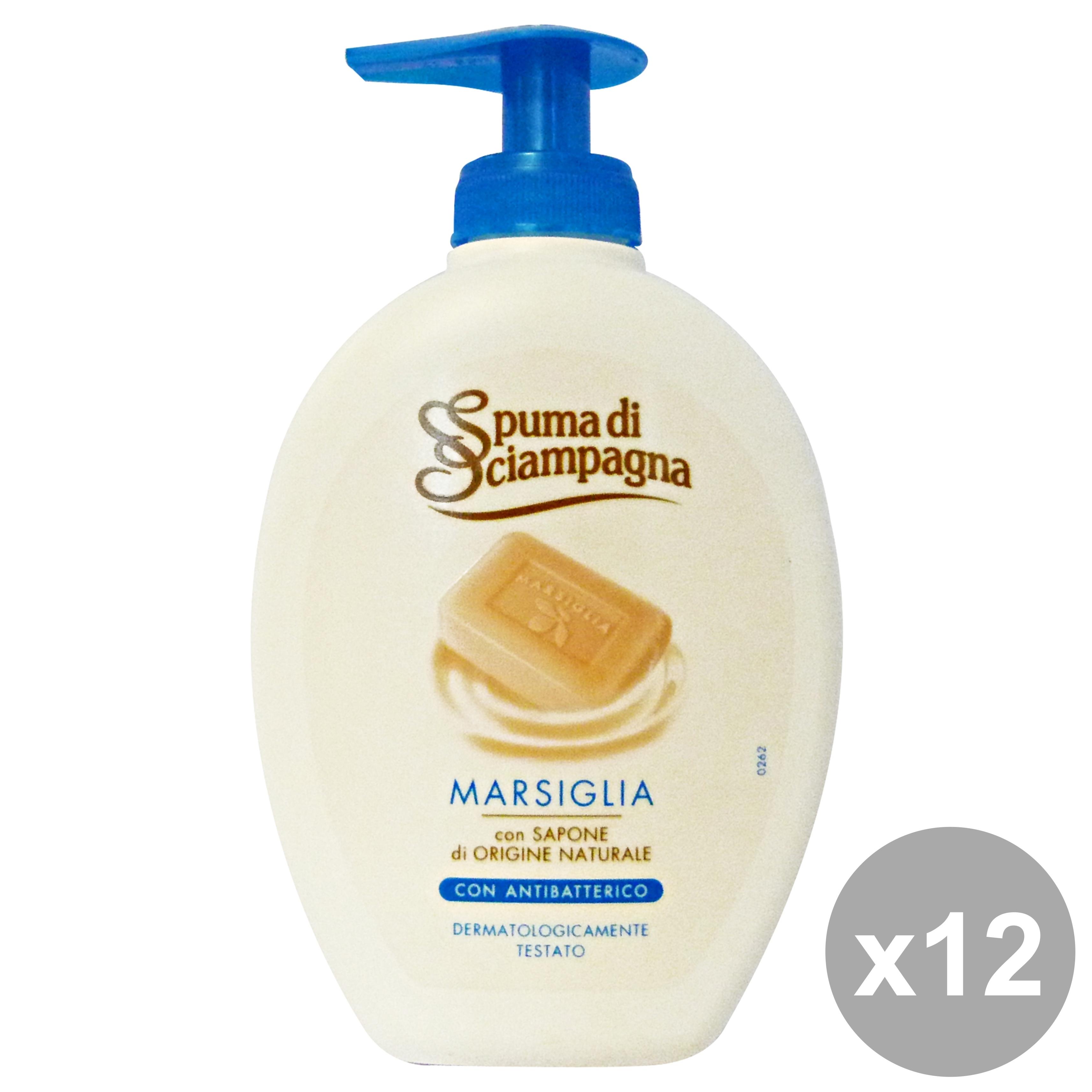 Buy Set 12 Marseille Liquid Soap Hands 17457768 | Italy2Us.com