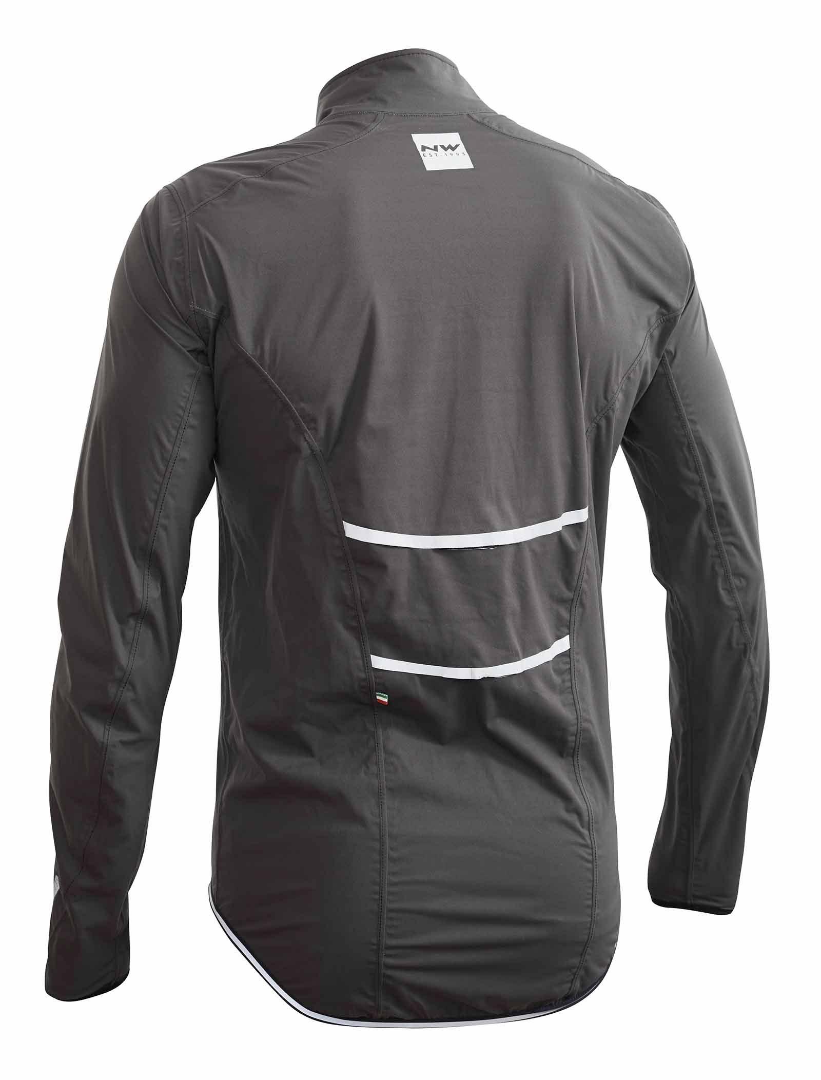 Buy Man Cycling Jacket Rainskin Anthracite 17619172 | Italy2Us.com