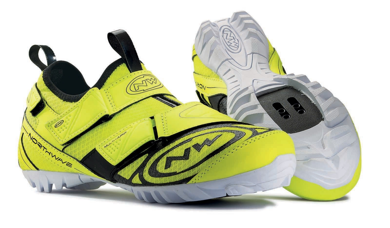 Buy Man Spinning Shoes Multi-app Fluo 17619185 | Italy2Us.com
